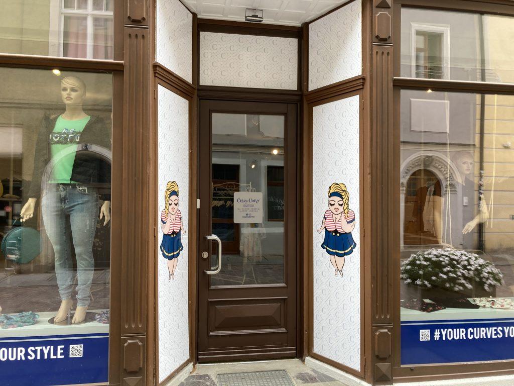 Eingang zum Store